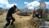 Noctis Using Gun