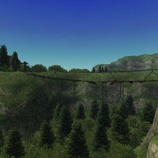 A disused bridge.