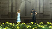 Zack and Aerith CC