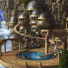 Chocobo's Paradise background.