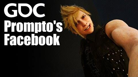 Prompto's Facebook How a Buddy-AI Auto-Snapshots Your Adventure in FFXV