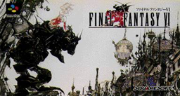 Final Fantasy VI Japanese box
