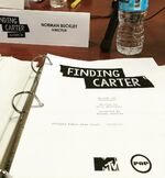 Finding Carter script 02x24 table read