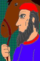 Labaya w his horse C By Niv Lugassi