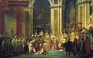 220px-Jacques-Louis David, The Coronation of Napoleon edit