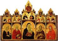 250px-Duccio.The-Madonna-and-Child-with-Saints-149
