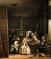 220px-Las Meninas (1656), by Velazquez