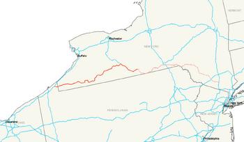 Interstate 86 East Future map