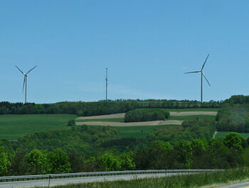 Dutch Hill Cohocton Wind farm windmills
