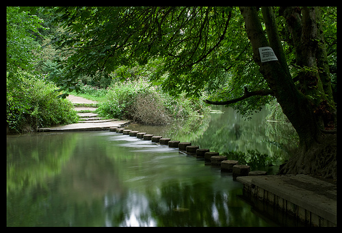 File:Stepping Stones over the River Mole, Box Hill, Dorking.jpg