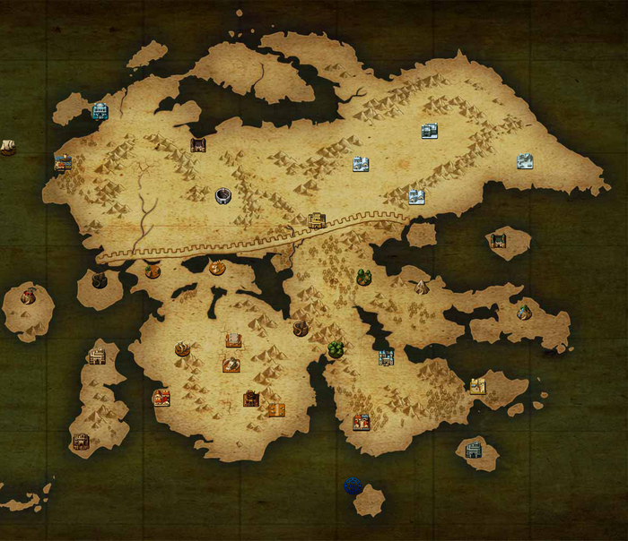 Ylisse locations