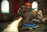 FE13 Pegasus Knight (Severa)