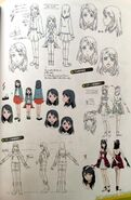 TMS (Cinematic) concept art of Tsubasa, 02