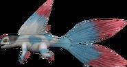 Lilith dragon model render