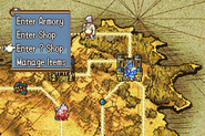 FE8 Accessing Shops from map