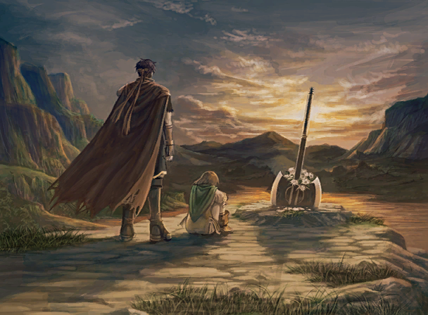 Fichier:Ike and Mist mourning.png