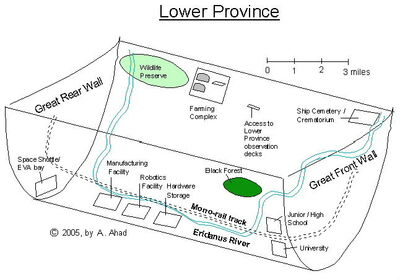 Map of Lower Province