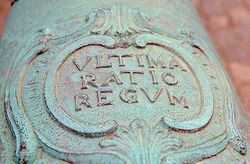 640px-Ultima Ratio Regum Cannon
