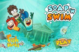 Soap 'n Swim menu