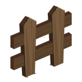 Angled Wooden Fence.png