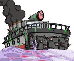 Toxic cruiser