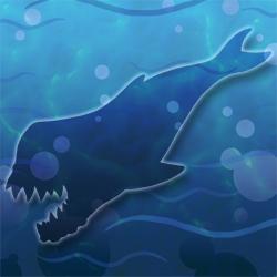 Leviathan whale hidden