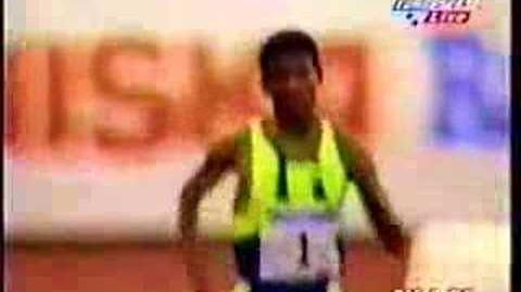Haile Gebrselassie 1998 Helsinki 5000m WR 12 39