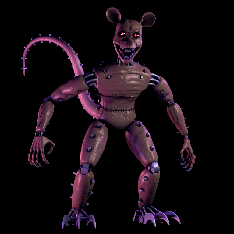 Image Monster Rat Brightened Png Five Nights At Candy