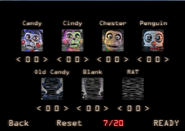Custom Night FNAC