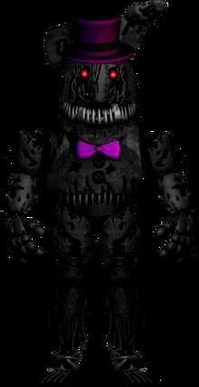 Nightmare shadow bonnie by codeluigi-d8ywunl