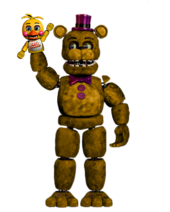 Fredbear the artist