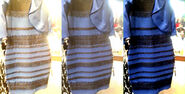 White-Gold-Dress-and-Blue-Black-Dress