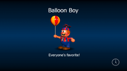 Balloon boy load