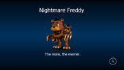 Nightmare freddy load