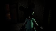 Minnie in Staff Area