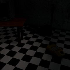 Po alone in the Repair Room.