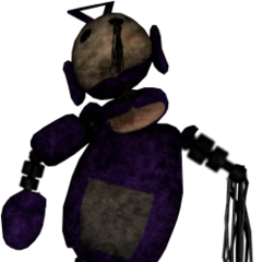 Withered Tinky Winky V2 as requested by Mr.Cowhat77, by Tuparman.