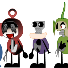 A remake of the previous image. Notice that I added Old Po and Noo-Noo.