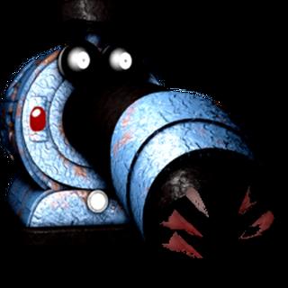Nightmere toy noo noo, by Bonnie fan Glitchy.