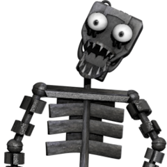 Full body image of the endoskeleton for the Original, from Critolious's DeviantArt.