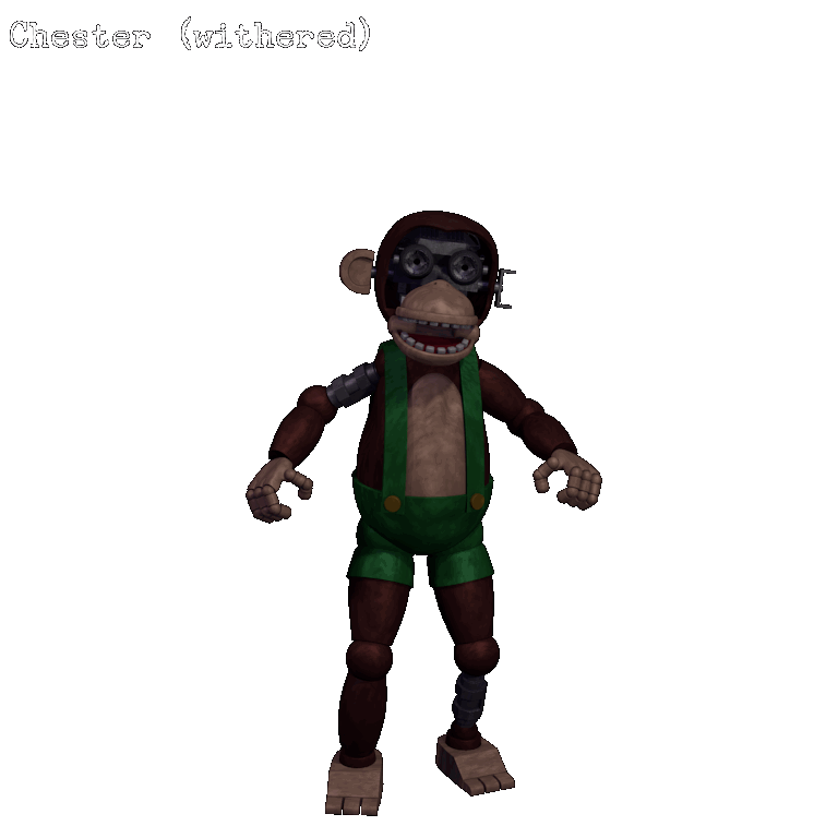 Chester The Chimpanzee Five Nights At Candy S Wikia