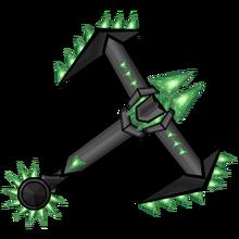 Iron Emerald Gemmed Hilt