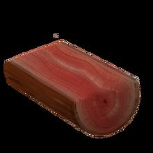 Raw cocobolo wood