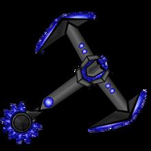Iron Sapphire Gemmed Hilt