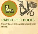 Rabbit Pelt Boots