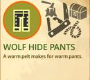 Wolf Hide Pants