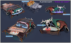 Flame in the flood the raft