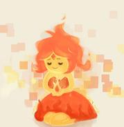 My flaming little princess by monstermilk-d5w8y6w