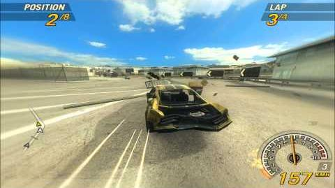 FlatOut 2. Water Canal 3