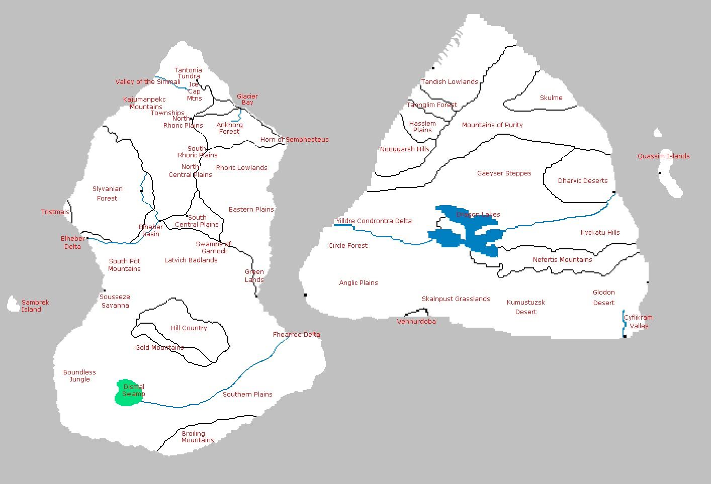 2CONTMAP regions